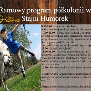 Program półkolonii